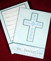 Holy Cross Religious Party Invitations (8) - $3.67