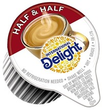 International Delight, Coffee House Inspirations Half and Half, 180 Count, Singl