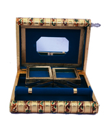 Traditional Meenakari Jewelry Box - $70.00