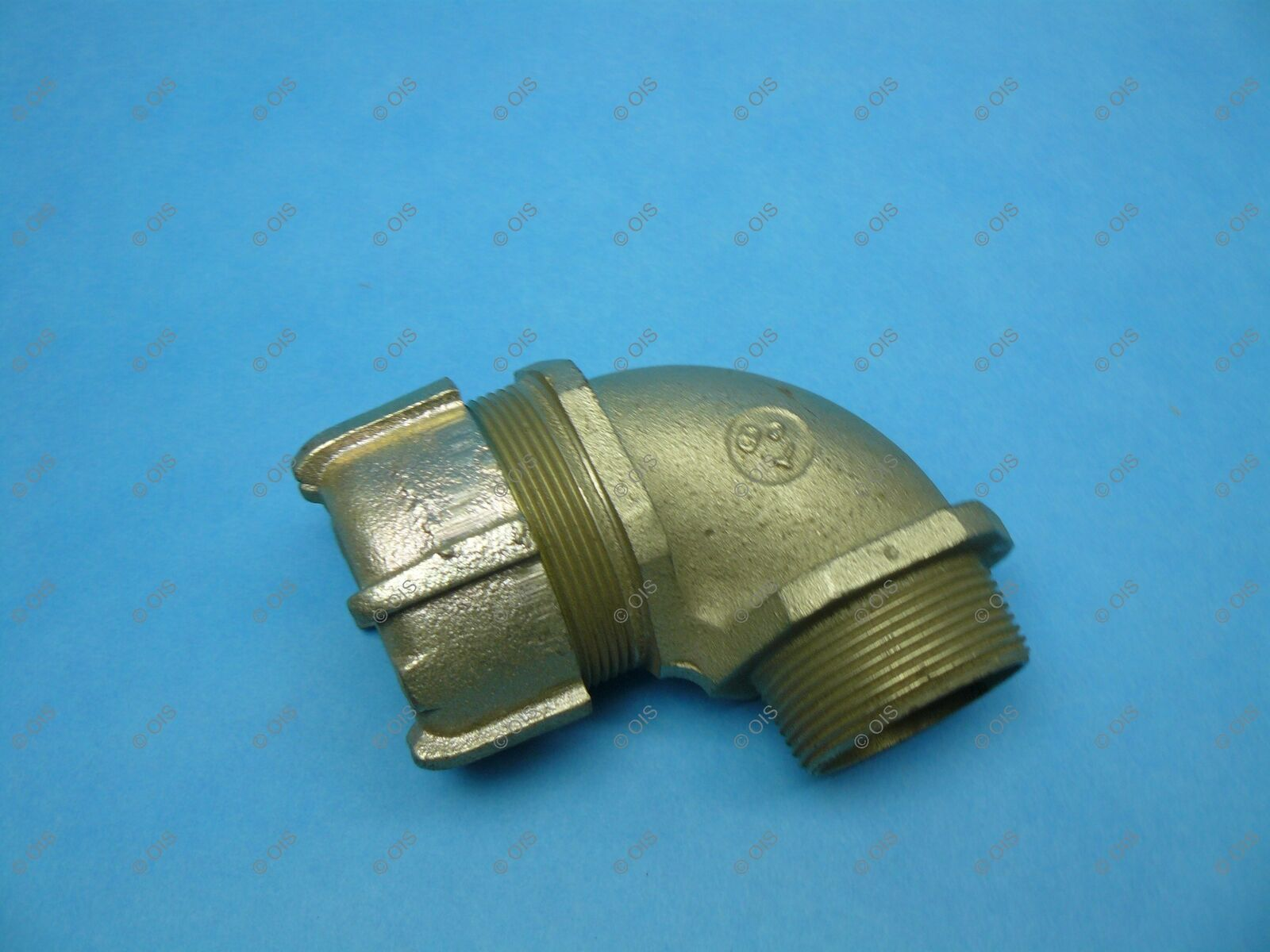 """*Lot of 6* Thomas /& Betts 1//2/"""" 90° Connector NEW Surplus!"""