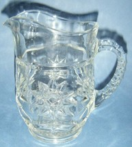 Vintage Anchor Hocking Early American Prescut EAPC 18 oz. Milk Pitcher - $7.43