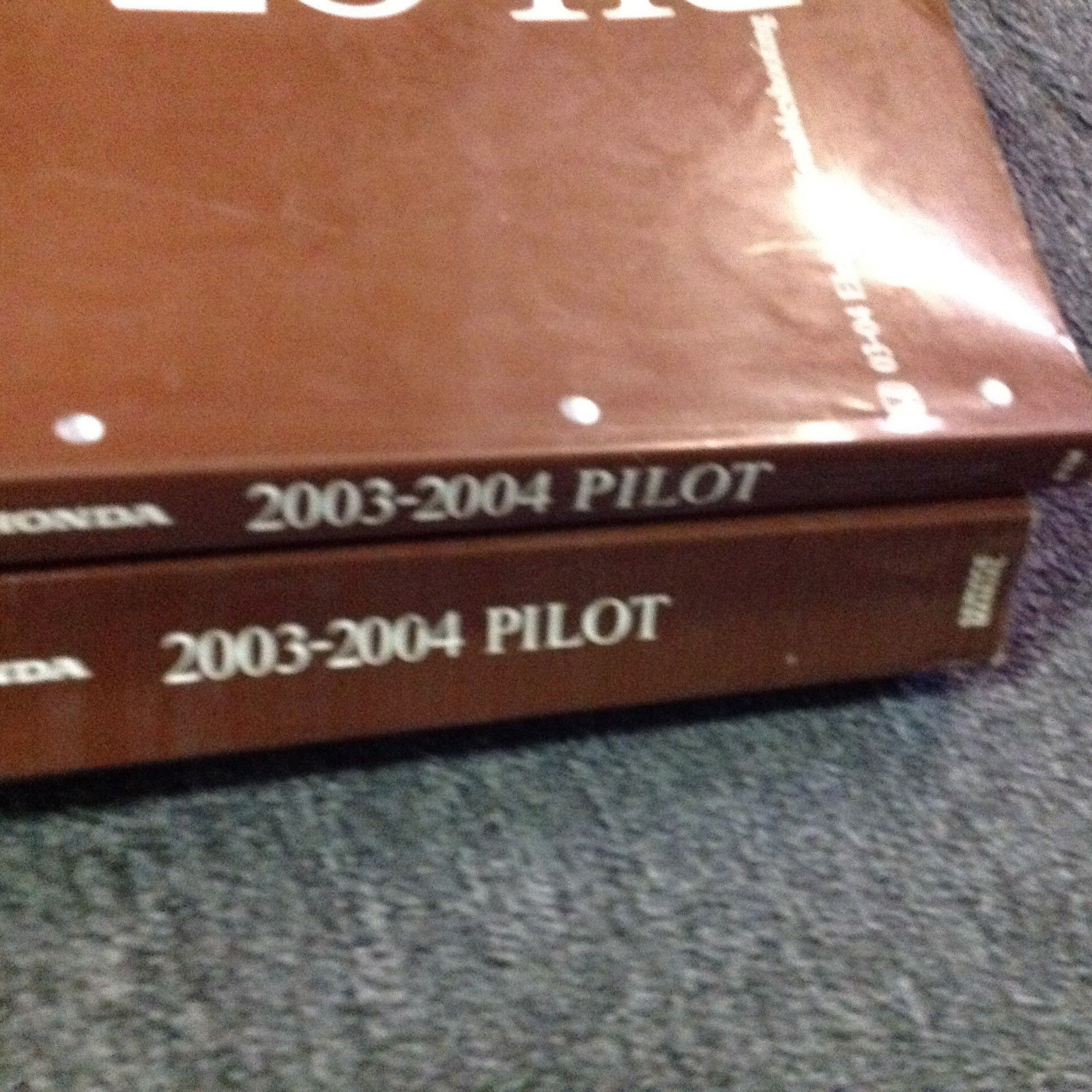 ... 2003 2004 HONDA PILOT Service Repair Shop Workshop Manual Set W EWD OEM  Factory