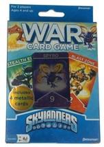 Skylanders War Card Game 4 Metallic Cards Each Pressman Family Lot Skylands - $11.79