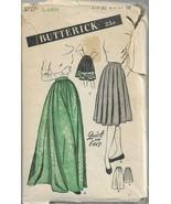 Vintage Butterick Pattern #3727-Misses Rounded Hipline Skirt-Sz Hip 37-W... - $12.16