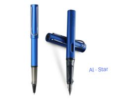 2017 Lamy Safari AI-star Ocean Blue Roller Ball Pen + Fountain Pen for c... - $17.59+