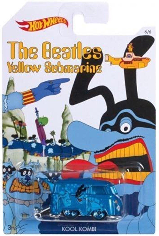 Blue meanie van    the beatles hot wheels