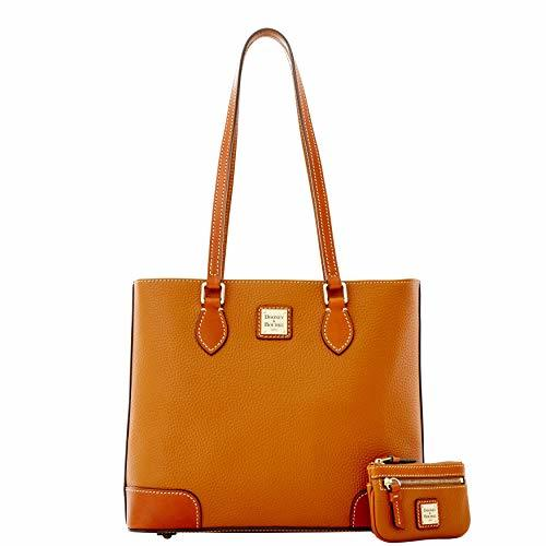 Dooney & Bourke Pebble Grain Richmond with Coin Case - Caramel