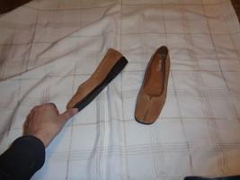 womens aerosoles flexation brown fabric slip on... - $19.78