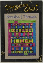 NEEDLEZ & THREADZ MINIATURE QUILT PATTERN by STARGAZEY QUILTS - $7.37