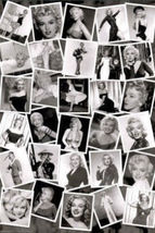 MARILYN MONROE - PHOTO COLLAGE POSTER - 24x36 SHRINK WRAPPED - $21.00