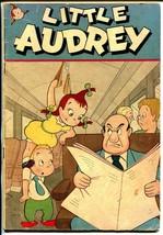 Little Audrey #2 1948-St John-wacky travel cover-dentist office-rare-VG - $119.80