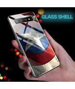 Marvel Superhero Theme Tempered Glass Samsung Galaxy Case - S10 S9 S8, N... - $16.99