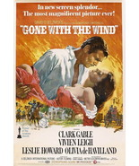 GONE WITH THE WIND POSTER 27X40 IN RHETT & SCARLETT 69X101 CM MOVIE - $39.99