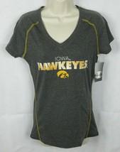 Champion NCAA Iowa Hawkeyes Women's Shirt, Black Heather, Size Small - $12.86