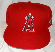 LA Anaheim Angels 2002 World Series New Era Pro Fitted Cooperstown Hat C... - $24.75