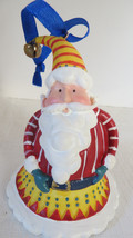 Christmas Avon 1998 Santa Tune Bell Ornament No Box - $5.89