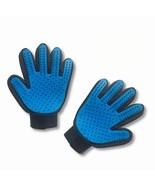 Pair of Original Pet Grooming Glove Gentle Deshedding Brush Glove Dogs,C... - $12.86