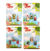 Fairy Garden Accessories set of 12 Miniature Fairies Gnomes Animals Figurines - $18.99