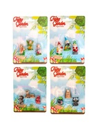 Fairy Garden Accessories set of 12 Miniature Fairies Gnomes Animals Figu... - $18.99