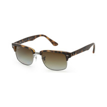 Ray Ban Clubmaster RB4190 878/M2 52 Sunglasses Tortoise / Brown Lens - $191.07