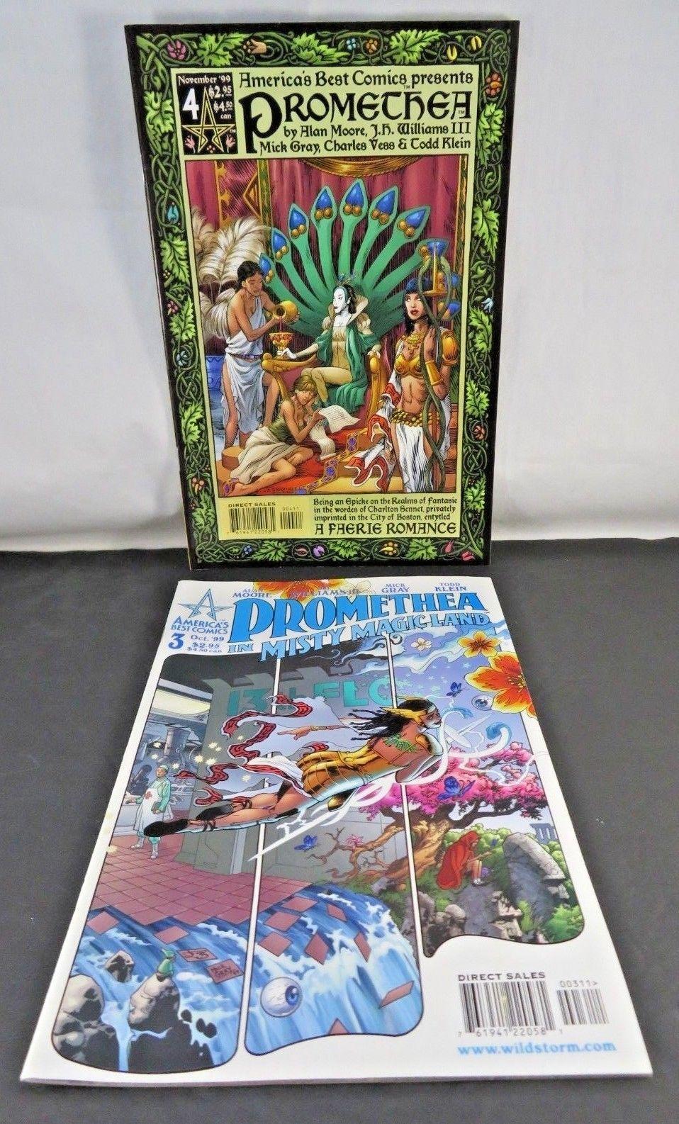 Lot of 8 Promethea comics No. 3, 4, 6 - 10 & 17 America's Best Comics Alan Moore
