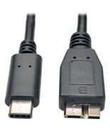 Tripp Lite U426-003 USB-C Male to USB-B Male Micro USB 3.1 Cable, 3ft - $30.07
