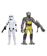 "Star Wars: Rebels, Mission Series, Garazeb ""Zeb"" Orrelios and Stormtrooper Actio - $56.49"