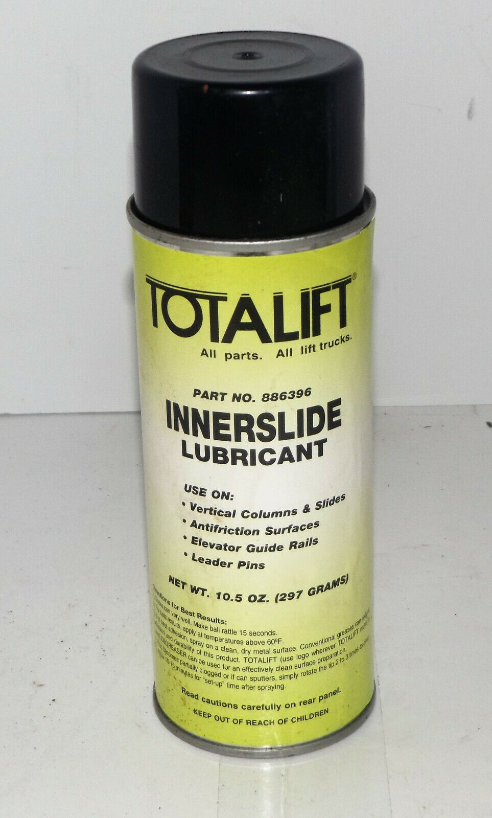 Primary image for NEW! 12 Pk  Clark Totalift Innerslide Chain Lubricant : 10.5 oz (886396) {D1627}