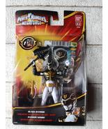 Bandai Saban's Power Rangers Megaforce Black Ranger new 10 cm. - $33.00
