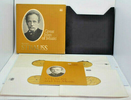 Time Life Great Mean Of Music Richard Strauss 4 LP Vinyl Record Set Pre-... - £13.50 GBP