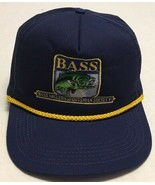 Vtg Bass Anglers Sportman Society Hat Montgomery Alabama Cap Made In The... - $25.24