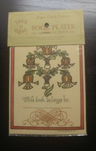 "1978 12 Vintage Bookplates Jack and Edies BP2 4x5"" QUAINT & UNUSUAL - $9.99"