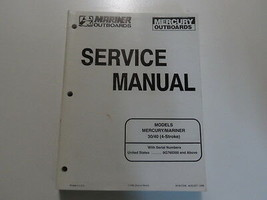 1998 Mercury Mariner Outboards 30 40 4 Stroke Service Repair Manual 90-8... - $33.58