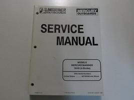 1998 Mercury Mariner Outboards 30 40 4 Stroke Service Repair Manual 90-857046 image 1