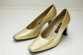 Stuart Weitzmann 7.5 Yellow Pumps Women's Shoes - $68.00