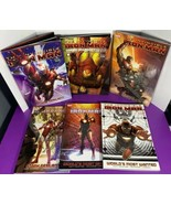 Lot of 6 Marvel Invincible Iron Man Graphic Novels Comic Books Paperback... - $34.64