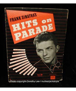 Frank Sinatra Songbook Hits On Parade Song Book - $13.99