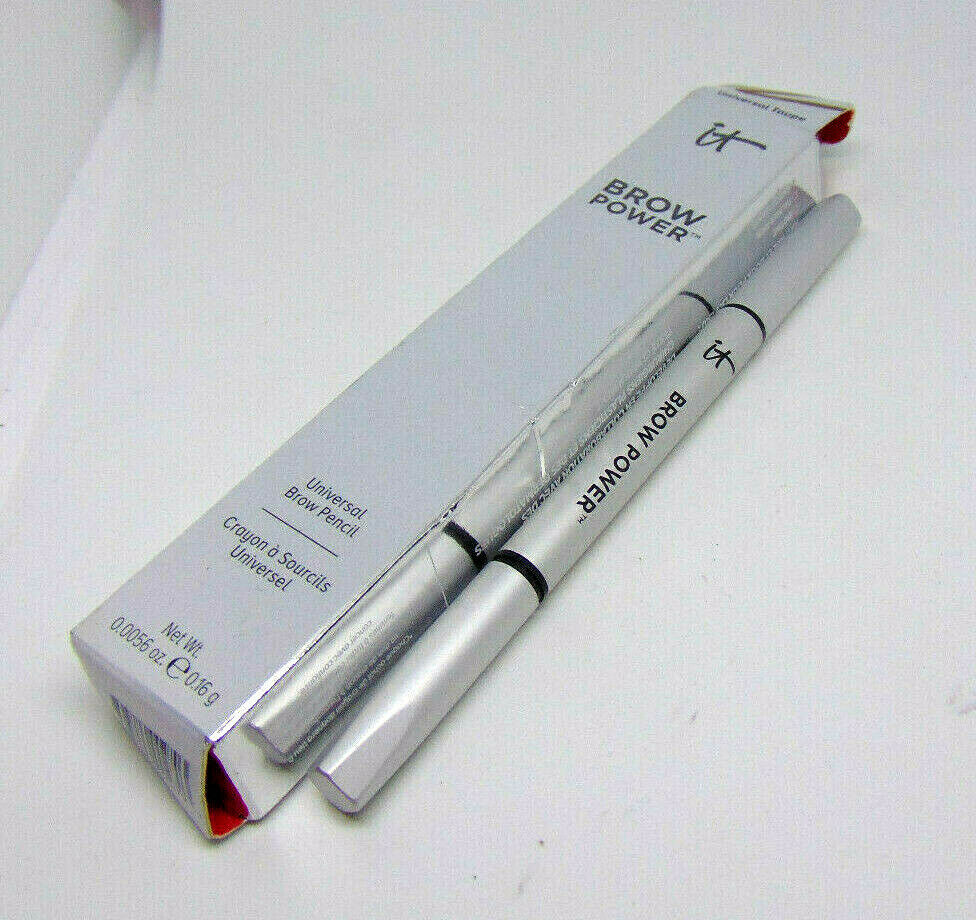 Primary image for IT COSMETICS BROW POWER Universal Brow Pencil Taupe 0.0056oz/0.16g NIB