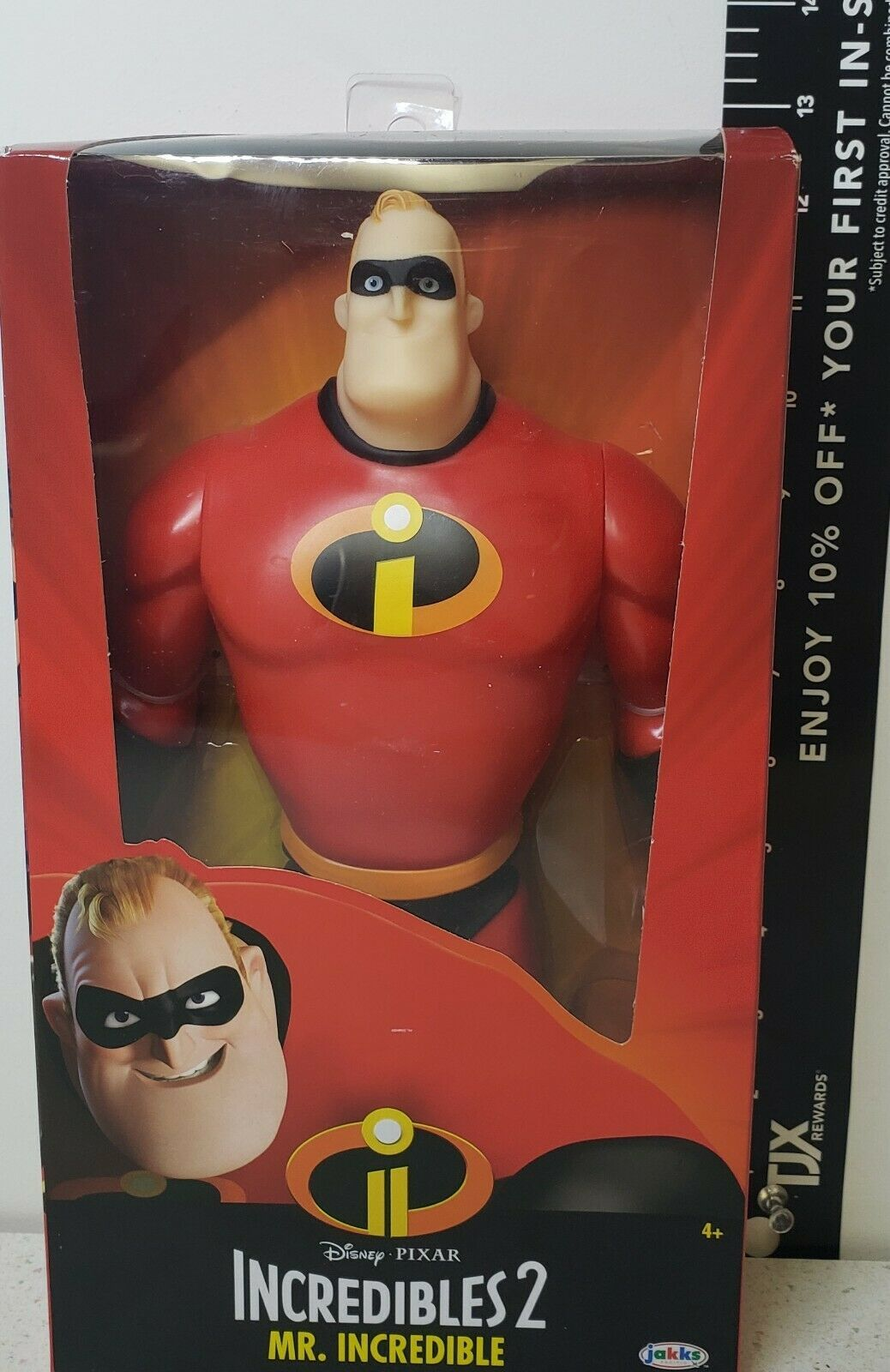 "Primary image for Disney Pixar Mr. Incredible 2 Champion Series 12"" Action Figure NIB Sealed"