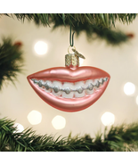OLD WORLD CHRISTMAS BRACES GLASS CHRISTMAS ORNAMENT 36289 - $14.88