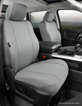 Fia SP89-73 Custom Front Seat Covers Gray Fits 2007-2018 Jeep Wrangler JK - $106.43