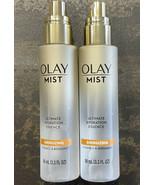 2 - Olay Mist Ultimate Hydration Essence Energizing Vitamin C & Bergamot... - $12.84