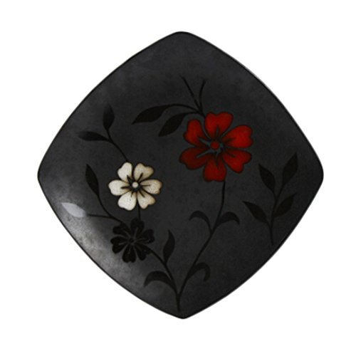 Kylin Express 2Pcs Creative Hand-Painted Square Ceramic Dinner Plate Fruit Plate - $41.46
