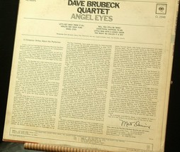 Dave Brubeck Quartet Angel Eyes  AA20-RC2116 Vintage image 2