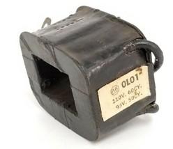 ALLEN BRADLEY 0-L01 COIL 95-110V 50/60CY 2 CONNECTORS 0L01