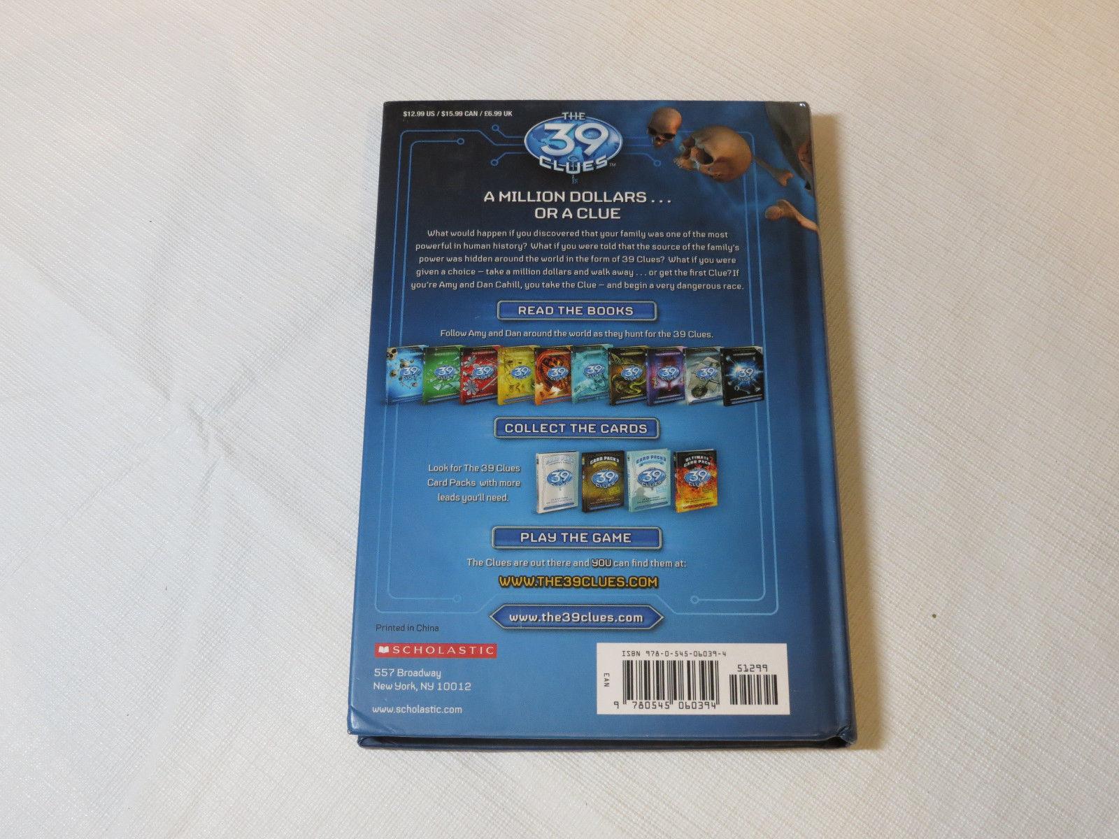 The 39 Clues: The Maze of Bones 1 by Rick Riordan 2008 Hardcover Book Scholastic