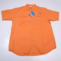 Columbia Performance Fishing Gear Mens Shirt Size Medium Short Sleeve Nwt New - $52.25