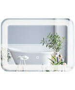 LED Bathroom Vanity Wall-Mount Mirror with Touch Button - $113.73