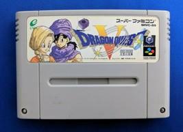 Dragon Quest V SNES 1992 Video Game cartridge Japan import Square Enix - $29.70