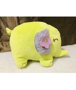 Carter's The William Carter Company Green Elephant Pink Flower Plush Toy... - $57.42